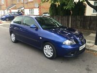 2006 seat IBIZA 1.4 petrol 3 doors , fsh , part exchange welcome