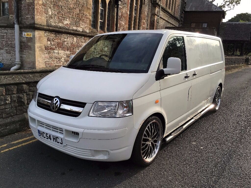 vw transporter t5 2 5 tdi 130 bhp lwb 20 alloys. Black Bedroom Furniture Sets. Home Design Ideas