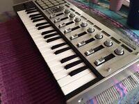 KORG MicroKontrol MIDI Studio Controller LCD USB Studio 37-Key Joystick Keyboard