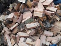 mixed seasoned logwood approx 1.24cu mtrs at £80.00 and 2.48cu mtrs a full van load at £140.00