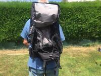 Large hiking backpack.