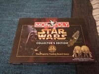 Star wars limited edition monopoly