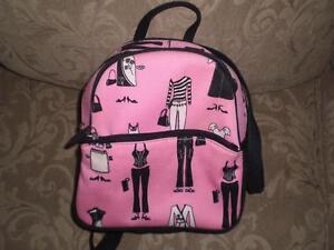 Pink & Black small backpack purse Kitchener / Waterloo Kitchener Area image 1