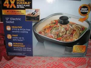 "12"" ELECTRIC SKILLET BY ""OSTER"""