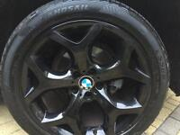 Original BMW 20 Inch Wheels and Tyres