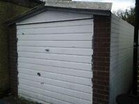 Prefab concrete garage - free to dismantle and remove. Ruislip area.