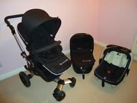 Concord Neo Travel System - Stroller, Carrycot and Car Seat