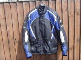 buffalo motorcycle jacket size large