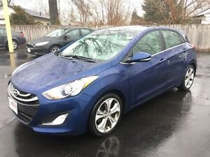 2013 HYUNDAI ELANTRA GT SE- PANORAMIC SUNROOF, LEATHER HEATED SE