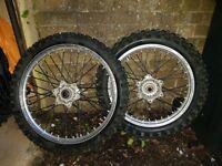 KTM motocross wheels