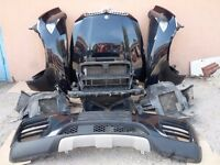 BMW X6 E71 M50d complete FRONT SET. BMW X6 Parts: Engine,Gearbox,Seats,Bumper, Back, Modules,Sensors