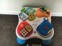 Fisher price leaning table - excellent condition