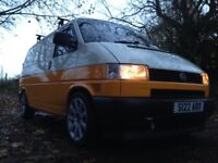 Volkswagen VW t4 transporter camper campervan day van two tone t4 transporter