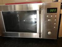 Microwave - stainless steel with auto cook function