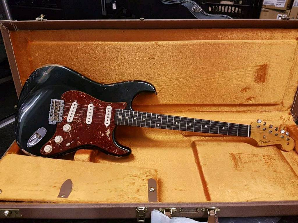 Fender Custom Shop 1960 Stratocaster British Racing Green - Relic