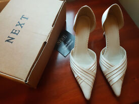 FOR SALE: Next Cream Shoes size 4/37 (still in original box)