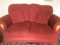 Two two seater sofas for sale