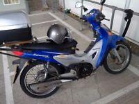 Honda Innova ANF 125cc no advisories on last MOT