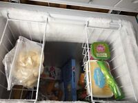 White Logik Chest Freezer