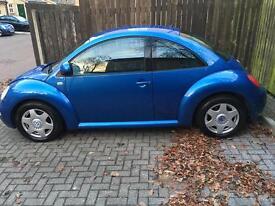 Vw beetle new shape 2001 2.0