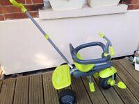 childrens toddler smart trike -