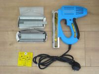 ARROW Nail Master ET100M Heavy Duty Nail Gun ( USA made ) with approx 1000 15mm & 25mm brads