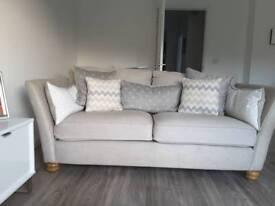 Oak Furnitureland 3 & 2 Seater Sofas