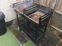 Barrel BBQ / Braai and cover