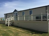 Luxury Sea Front Holiday Home at Pease Bay Holiday Park, 2 Bedroom, 6 Berth, Swift Chamonix