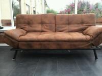 Bed settee for sale Brown