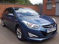 2012 HYUNDAI I40 1.7 CRDI BLUE DRIVE ACTIVE ESTATE £30 TAX FULL HISTORY A4 A6 3 5 SERIES C220 E220