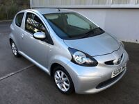 Stunning 2008 08 Toyota Aygo 1.0Vvti Platinum 3Dr **Only 80000+History+Leather+Only £20 Tax**