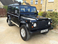 Land Rover Defender Td5 110 County Station Wagon 9 Seat 2002