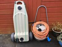 Caravan Aquaroll, Wastemaster and Electric cable