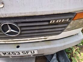 Mercedes vario 814d spare parts breaking