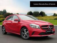 Mercedes-Benz A Class A 180 D SE EXECUTIVE (red) 2017-01-19