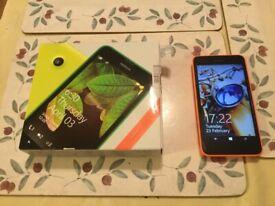 Tesco mobile network Nokia LUMIA 630 in good working order