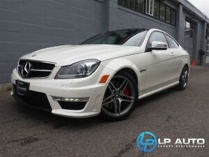 2013 Mercedes-Benz C-Class C 63 AMG Performance Package! Easy Ap