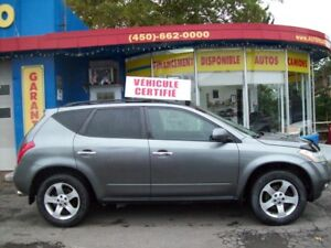 2005 Nissan Murano SL  AWD  avec une garantie de 1 ans incluse