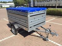 trailer THULE Brenderup 1205s XL ,with Extension Side Kit and flat cover