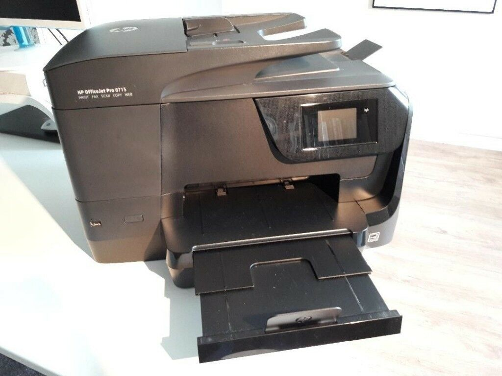 HP OfficeJet Pro 8715 All-in-One Printer, scanner, copier, fax | in  Wheatley Hill, County Durham | Gumtree