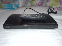 Sony BDP-S185 Blue-ray player with remote