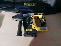 Dewalt DCH274 18V XR Brushless SDS Plus drill pre owned, NO BATTERIES OR CHARGER