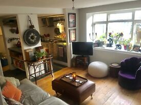 SHORT TERM LET JANUARY 2017 - COSY 2 BED GARDEN FLAT - SE26 4DP - 8 min walk to Forrest Hill Station