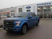 2015 Ford F-150 2015 FORD F150 LARIAT DEMO 501A 4X4 LEATHER