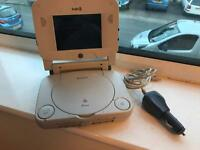 Portable PS1 PlayStation one vintage retro