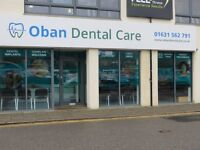 Associate Dentist required for busy mixed practice in Oban, near Glasgow, Scotland