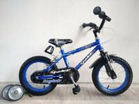 "(3072) 14"" CONCEPT SPIDER CREEPY CRAWLER Kids Bike Bicycle + STABILISERS; Age: 4-5, 98-112 cm"