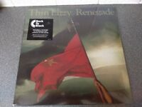 THIN LIZZY - RENEGADE - VINYL L.P - BRAND NEW + DOWNLOAD CODE