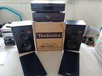 Technics Amp - CD Player plus speakers